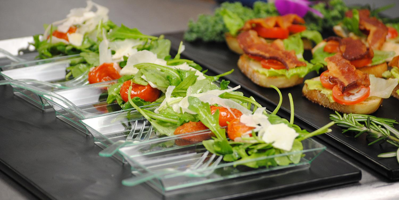 bacon-bread-salads